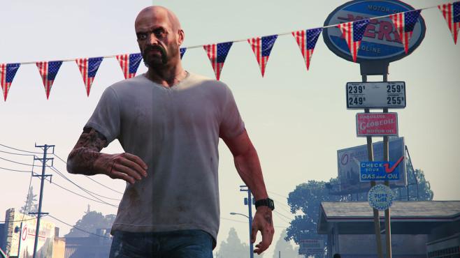 GTA 5: CryingLightning Mod ©Rockstar Games