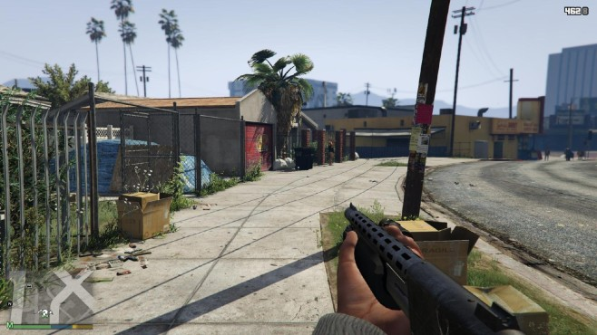 GTA 5: FOV © gta5-mods.com by DrDaxxy
