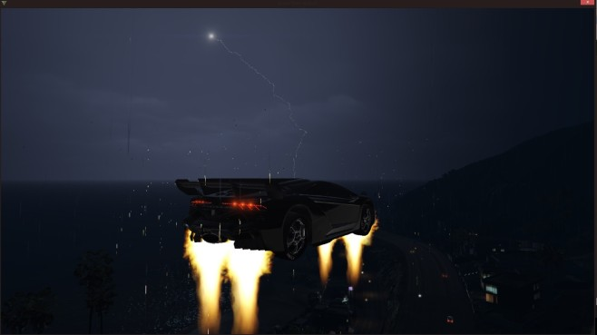 GTA 5: Vehicles Jetpack © gta5-mods.com by XMOD