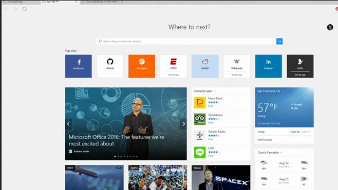 Microsoft: Neues von der Build 2015 ©COMPUTER BILD