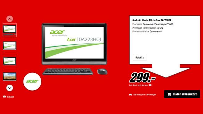 Acer DA223 HQL ©Saturn