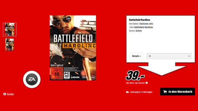 Battlefield – Hardline (PC) © Saturn