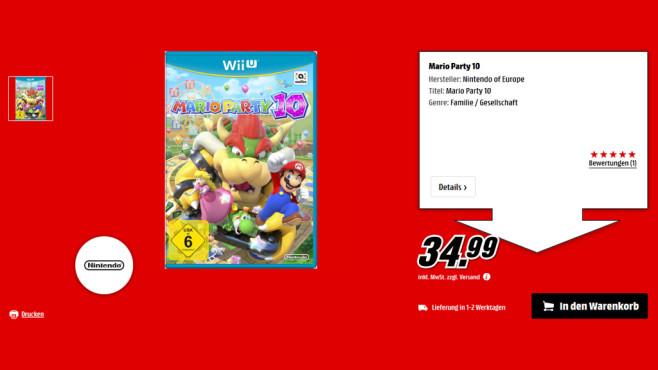 Mario Party 10 ©Saturn