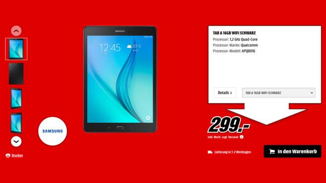 Samsung Galaxy Tab A 16GB ©Saturn