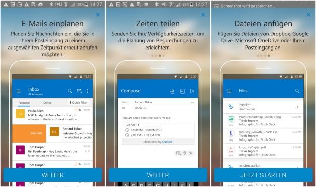 Outlook-App ©Microsoft