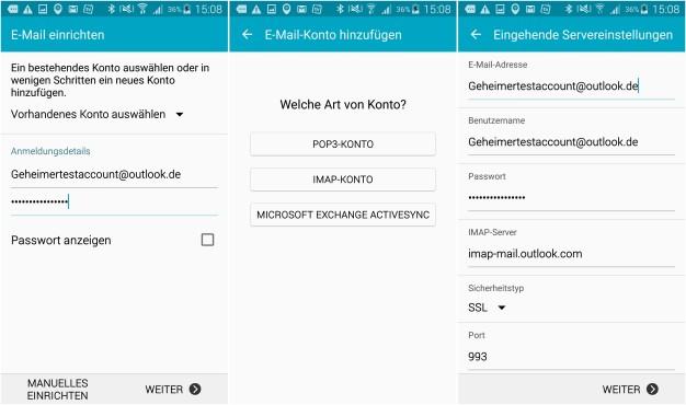Outlook per Smartphone und PC synchronisieren ©Microsoft