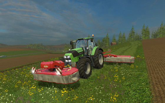 Kuhn FC313F / FC883 © Astragon / GIANTS Software
