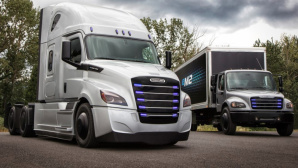 eCascadia und eM2 ©Daimler/Freightliner
