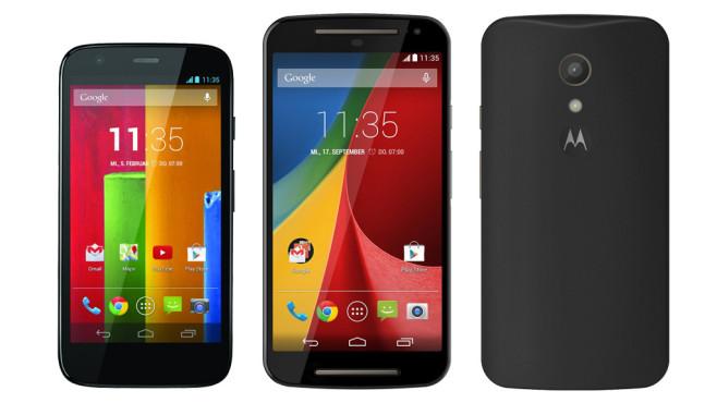 Motorola Moto G2 4G LTE ©Motorola
