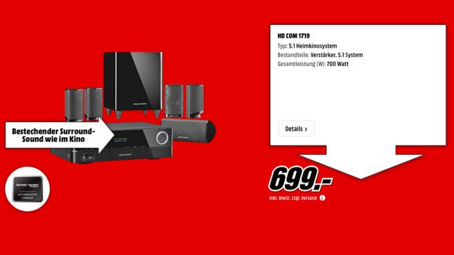Harman-Kardon HD Com 1719 ©Media Markt
