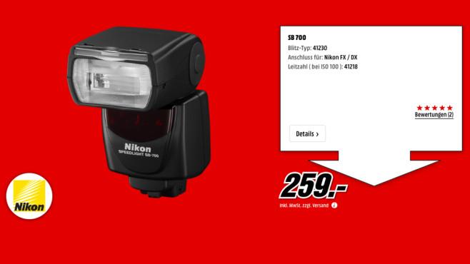 Nikon SB-700 ©Media Markt