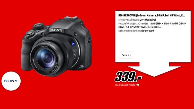Sony Cyber-shot DSC-HX400 ©Media Markt