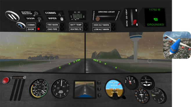 Airplane Pilot Simulator 3D © i6 Games