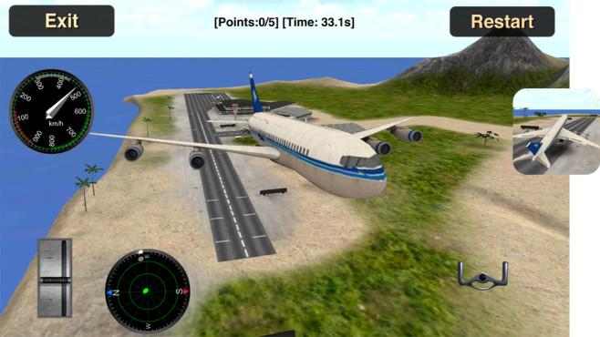 Flugsimulator 3D ©i6 Games