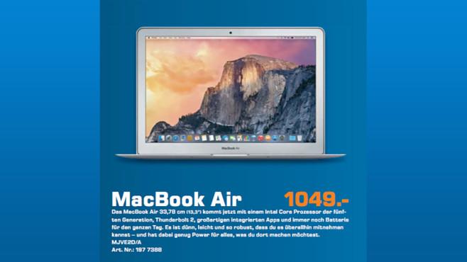 "Apple MacBook Air 13"" 2015 (MJVE2D/A) ©Saturn"