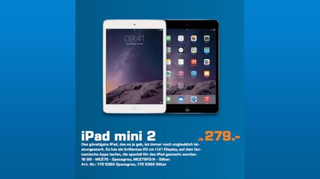Apple iPad mini Retina ©Saturn