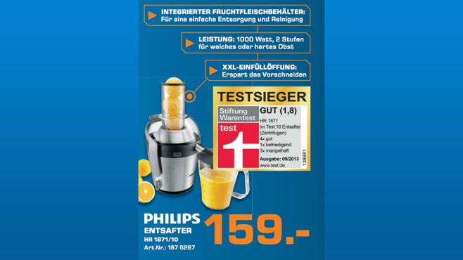 Philips HR1871/70 ©Saturn