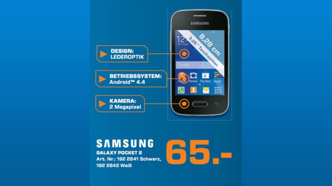 Samsung Galaxy Pocket 2 ©Saturn