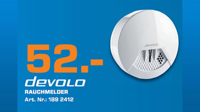 devolo Home Control Rauchmelder Z-Wave ©Saturn