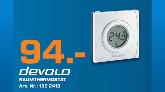 devolo Home Control Raumthermostat ©Saturn