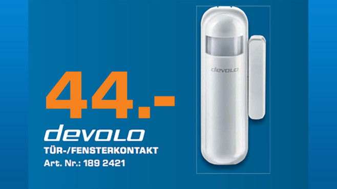 devolo Home Control Tür-/Fensterkontakt © Saturn