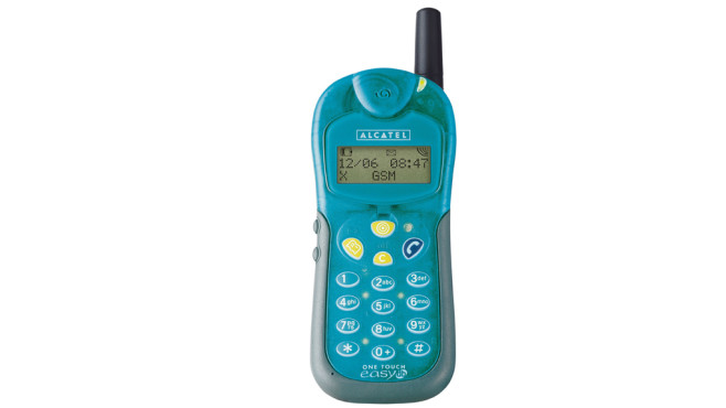 Alcatel One Touch Easy © altehandys.de
