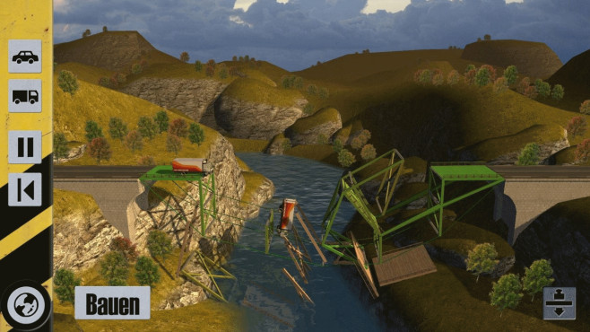 Bridge Constructor: Einsturz © Headup Games