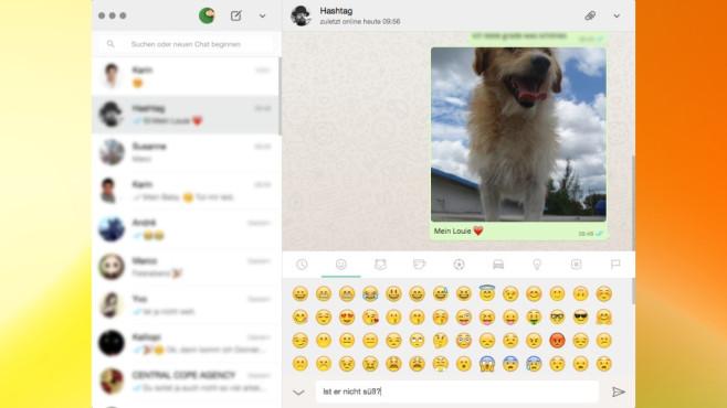 WhatsApp für PC: Bequemer chatten ©COMPUTER BILD