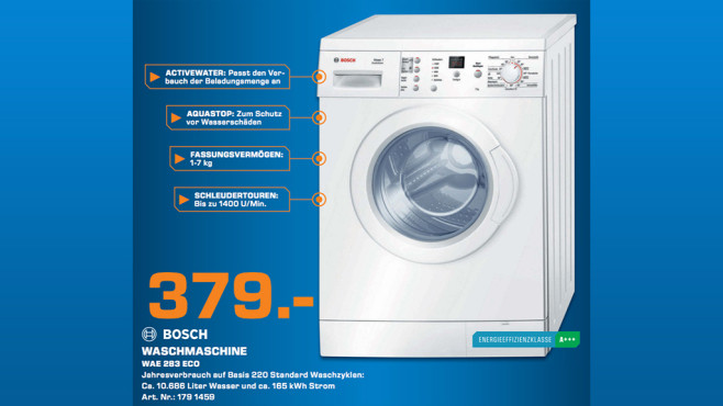 Bosch WAE283ECO © Saturn