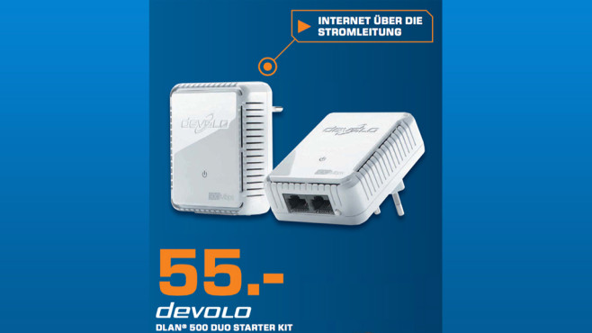 Devolo dLAN 500 duo Starter Kit © Saturn