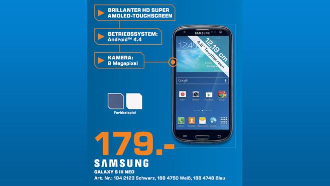 Samsung Galaxy S3 ©Saturn