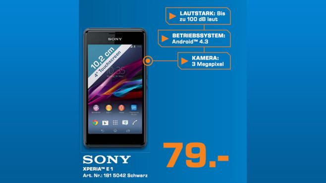Sony Xperia E1 ©Saturn