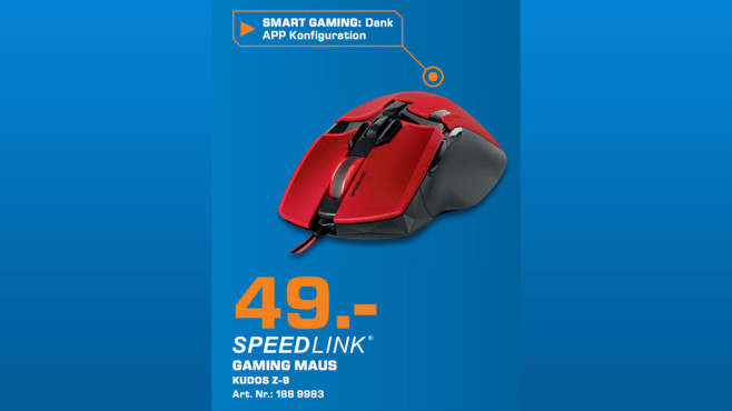 Speedlink Kudos Z-9 © Saturn