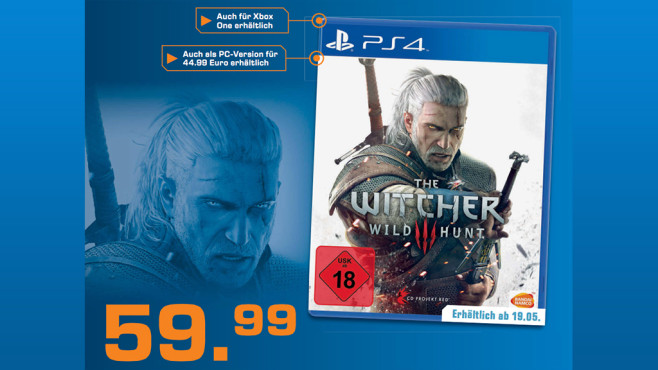 The Witcher 3: Wild Hunt (PS4) © Saturn