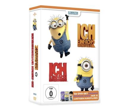 """DVD-Box """"Ich – einfach unverbesserlich"""" ©Tchibo"""