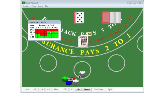 Quick Blackjack Portable © COMPUTER BILD