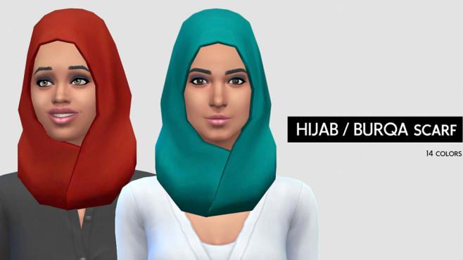 Mod: Hijab ©EA, LumiaLoverSims