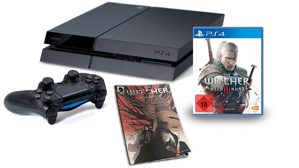 ps4 g nstiges bundle mit the witcher 3 computer bild spiele. Black Bedroom Furniture Sets. Home Design Ideas