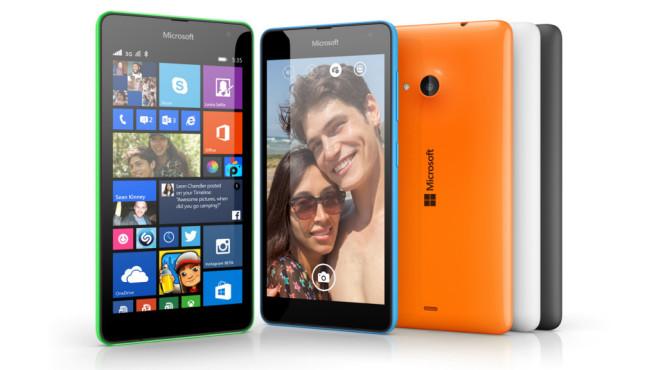 Microsoft Lumia 535 ©Microsoft