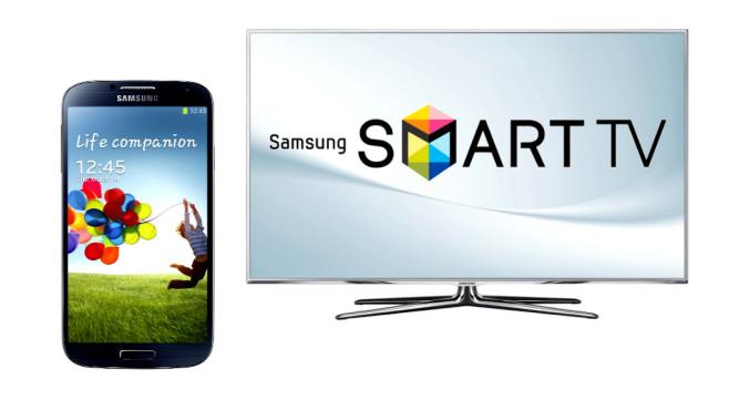 samsung galaxy s6 mit dem smart tv verbinden computer bild. Black Bedroom Furniture Sets. Home Design Ideas