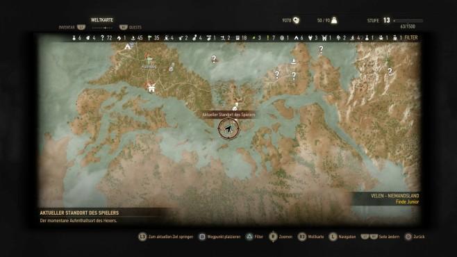The Witcher 3: Orte der Macht – Velen ©Bandai Namco