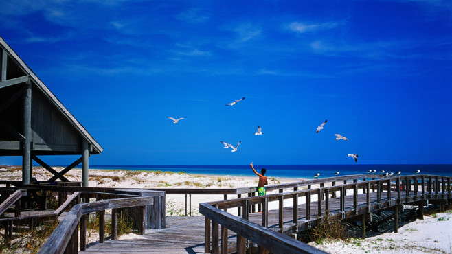St. George Island State Park, Florida © Getty Images - James Randklev
