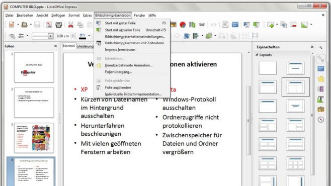 Platz 42: LibreOffice (neu) ©COMPUTER BILD