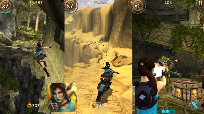Lara Croft – Relic Run © SQUARE ENIX Ltd
