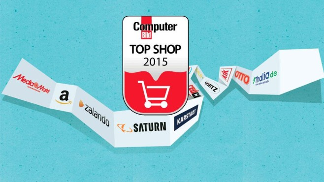Top Shops 2015 © COMPUTER BILD