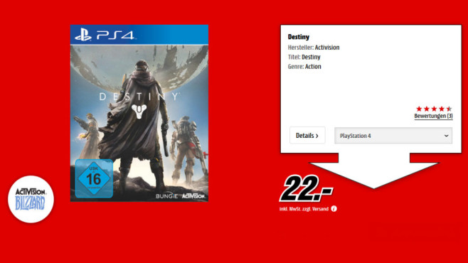 Destiny (PS4) © Media Markt