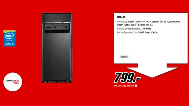 Lenovo H50-50 ©Media Markt