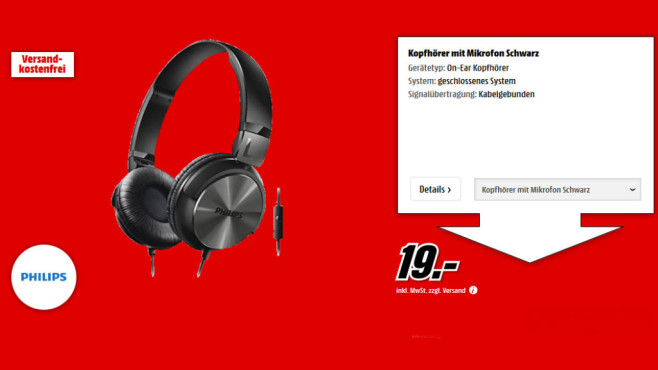 Philips SHL3165 © Media Markt