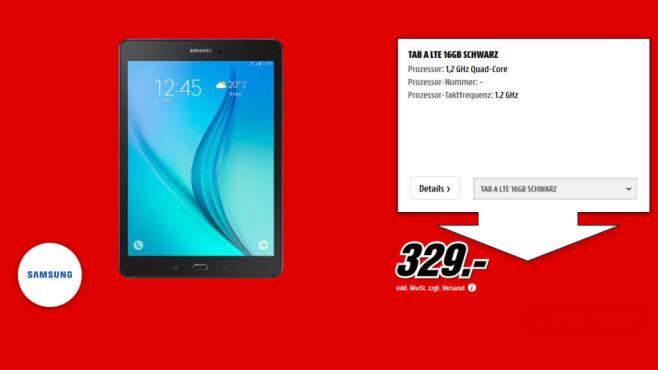 Samsung Galaxy Tab A 16GB LTE ©Media Markt