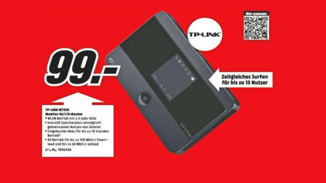 TP-LINK M7350 ©Media Markt